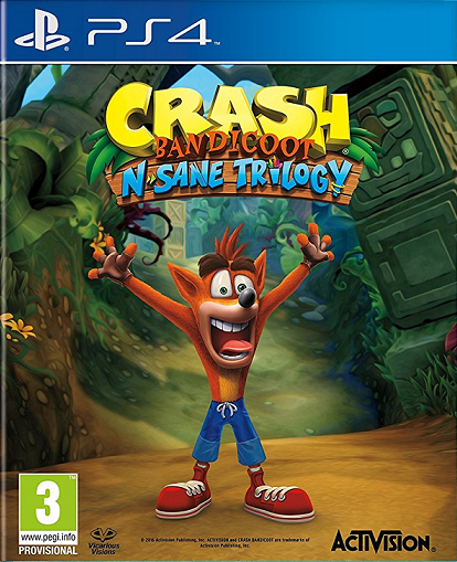 Crash Bandicoot N. Sane Trilogy (PS4)